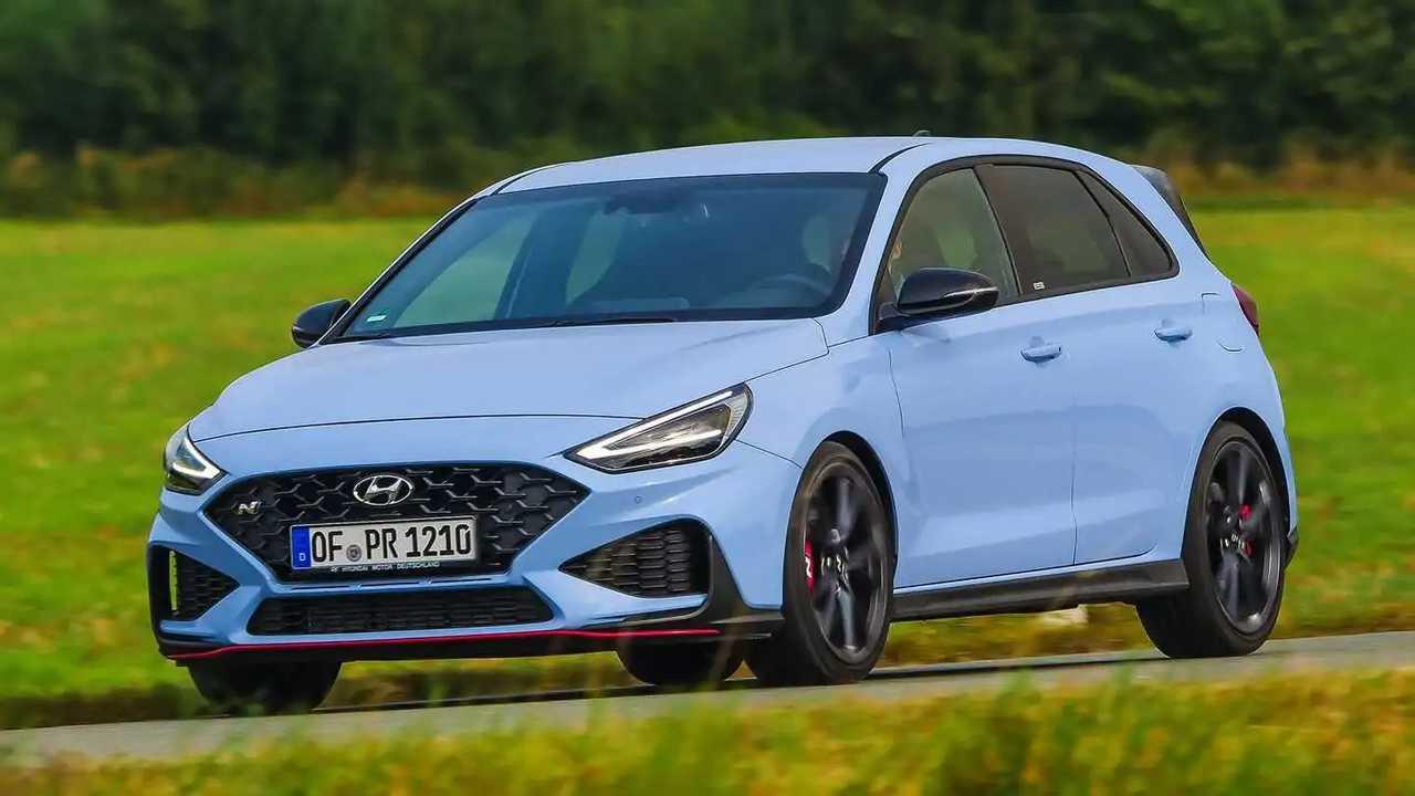 Hyundai i30 N DCT (2021) in Performance Blue
