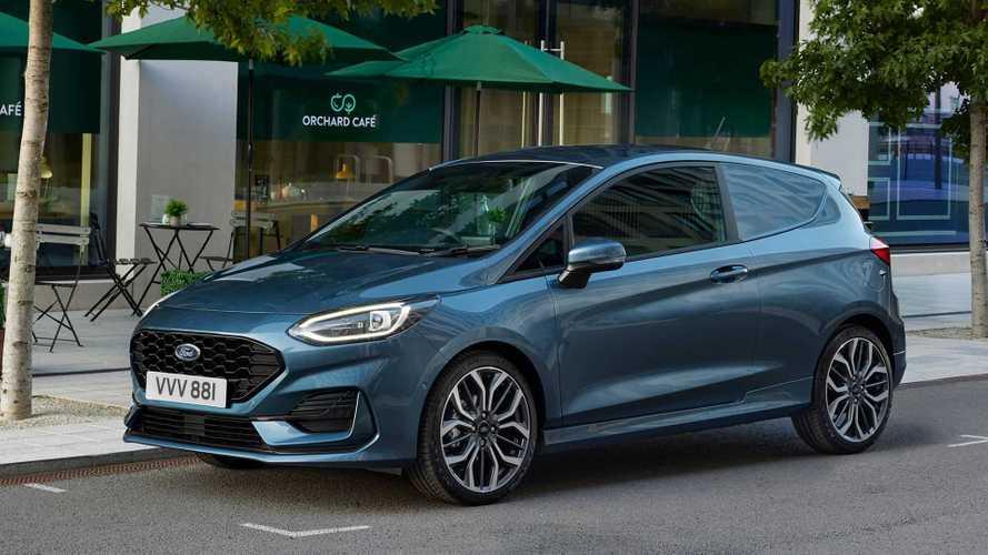 Ford Fiesta Van (2022): Klein-Lieferwagen für die Stadt