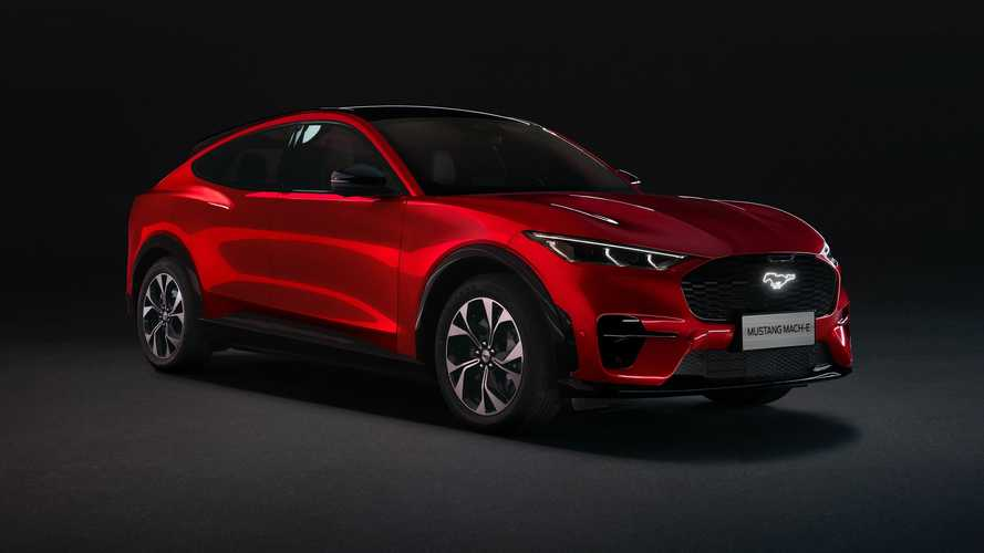 Ford Mustang Mach-E Long Range Spesifikasi Cina