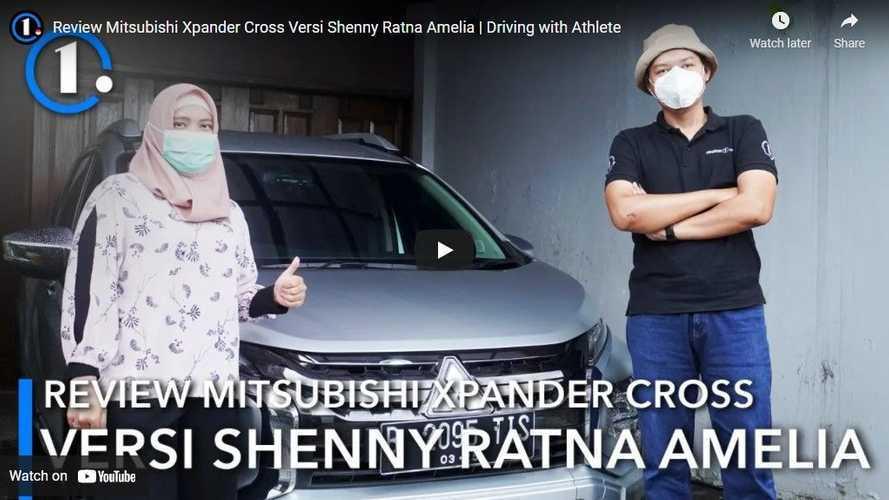 Review Xpander Cross bareng Shenny Amelia: Mungil Bukan Masalah