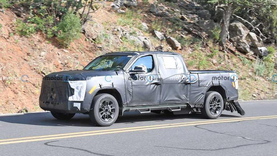 Toyota Tundra – новые шпионские снимки