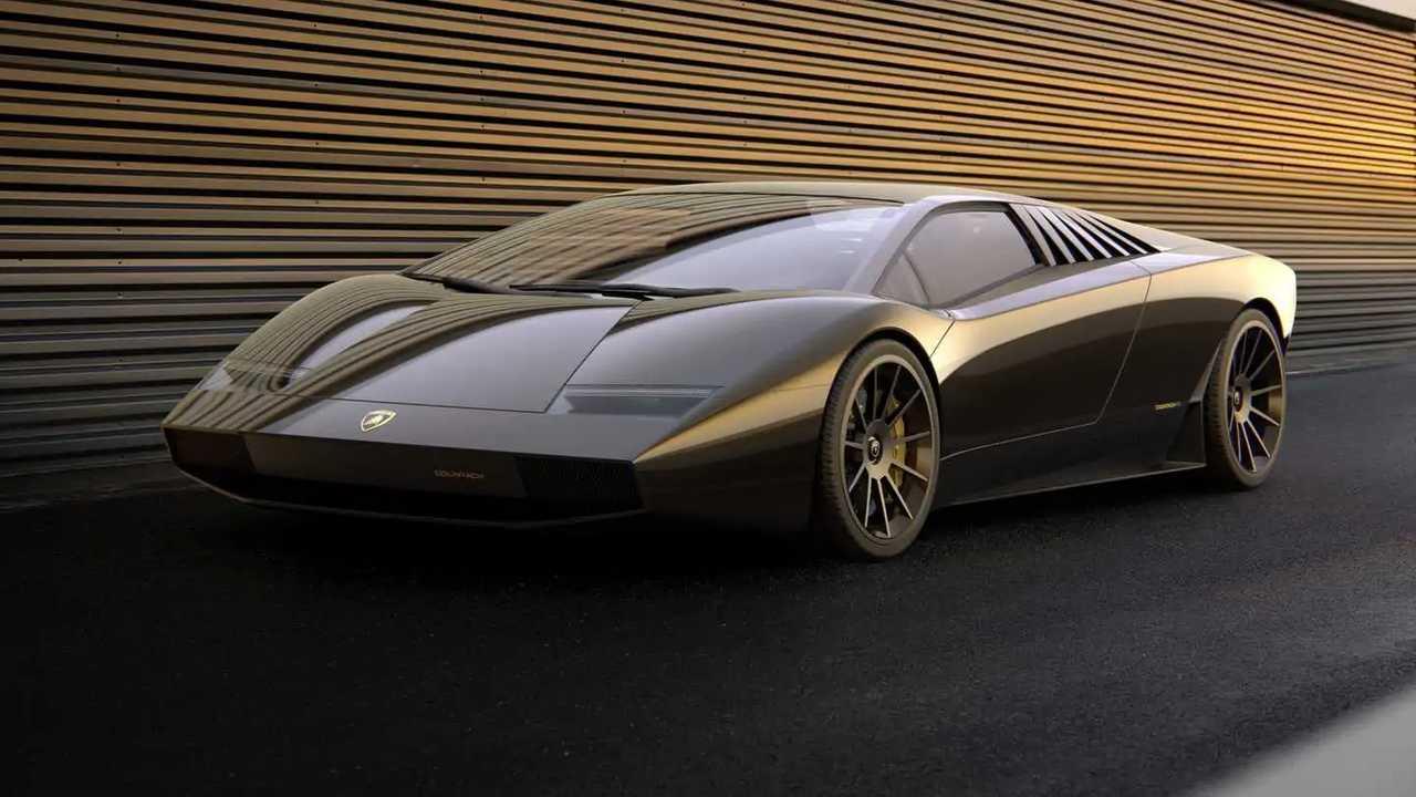 Lamborghini Countach 50 renderelés