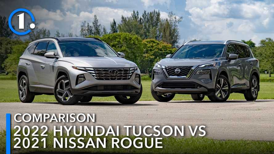 2022 Hyundai Tucson Vs 2021 Nissan Rogue: Fighting For First
