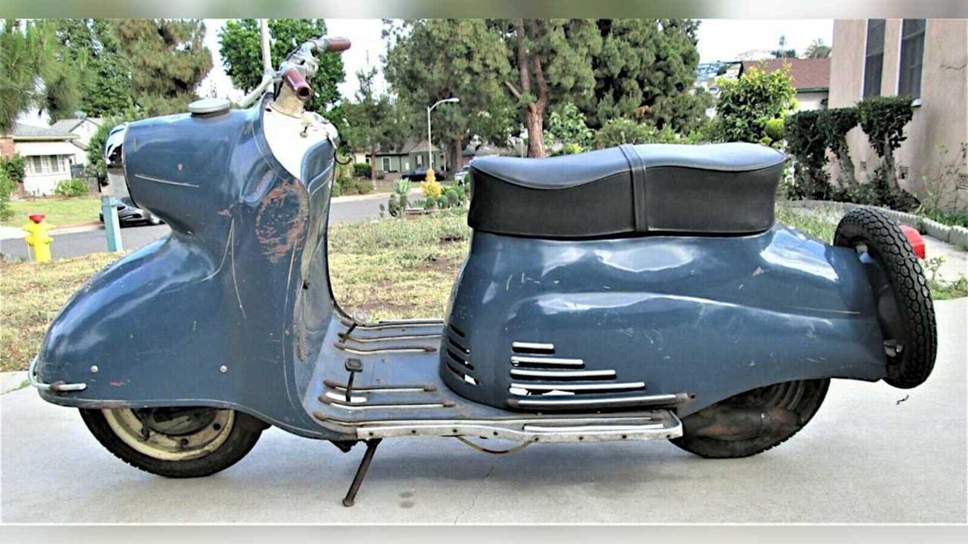 1956 KTM Mirabell 125 - Left side