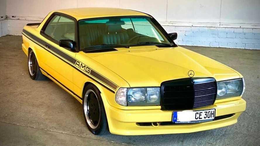 A múltja és a jövője is fényes lesz ennek az 1983-as, Zender kasztnis E-osztályú Mercedesnek