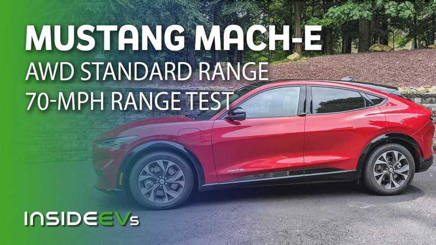 Mustang Mach-E Standard Range AWD 70-MPH Range Test