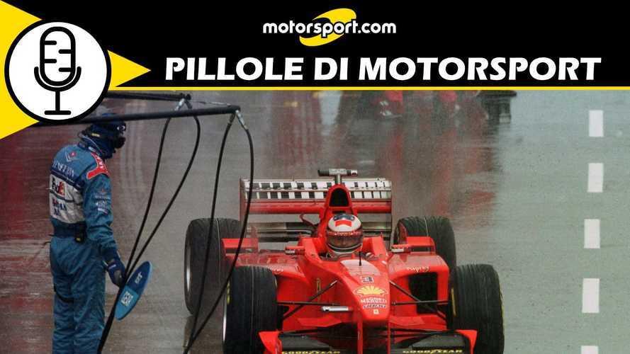 "Podcast: Silverstone '98, Schumacher e la vittoria ""astuta"""
