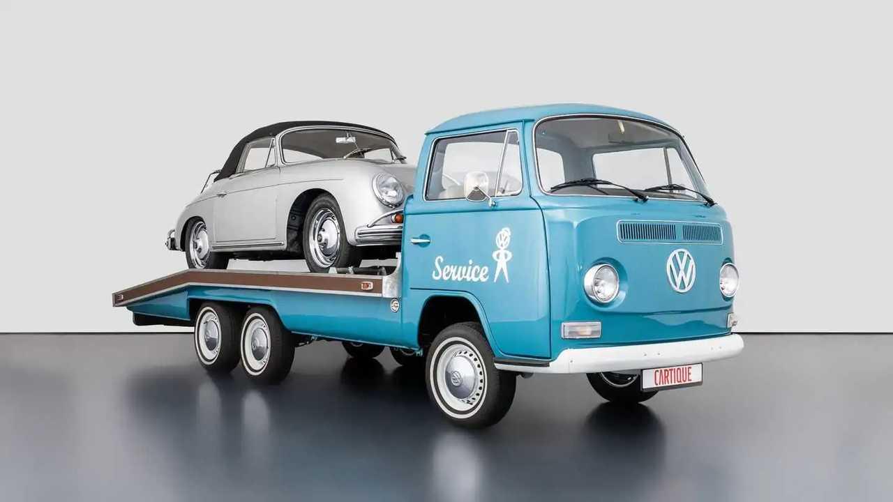 Volkswagen T2, la versione carroattrezzi di Mechatronik