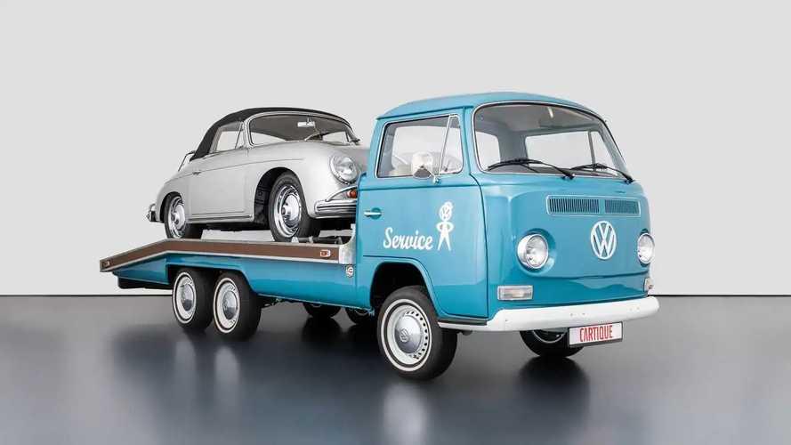 Volkswagen T2, in vendita un carro attrezzi quasi nuovo