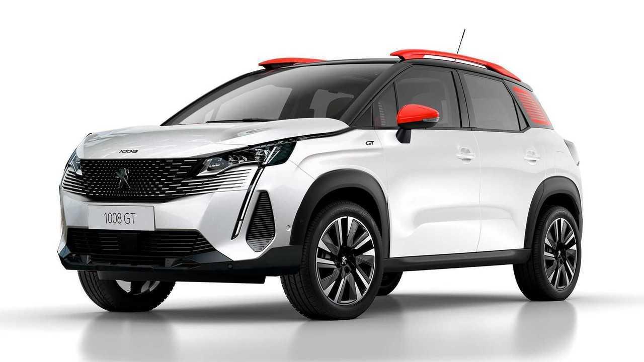 Recreación Peugeot 1008 SUV urbano