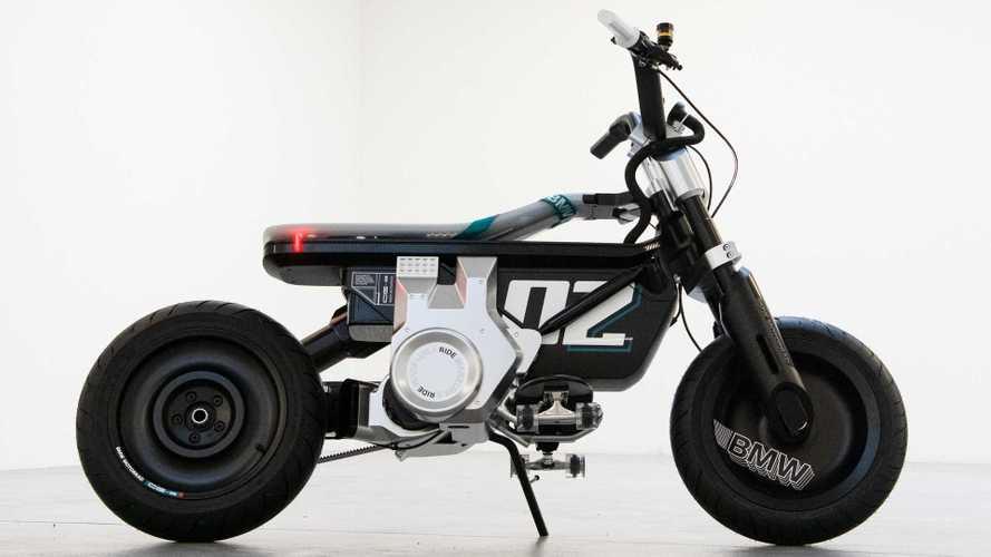BMW Motorrad desvela el scooter eléctrico Concept CE 02