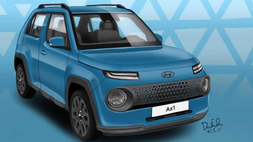 Novo Hyundai Casper será mini-SUV abaixo do Venue
