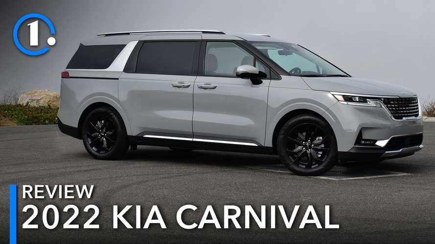 2022 Kia Carnival SX Review: Vans Are Cool, Y'all