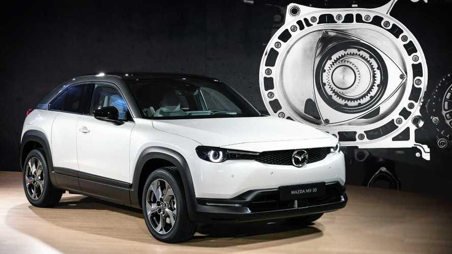 Offiziell: Mazda MX-30 mit Wankel startet 2022