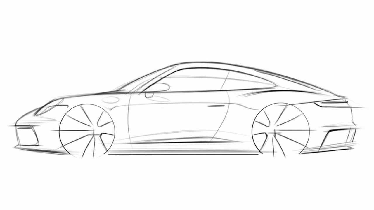 How To Draw A Porsche 911 - Step 5