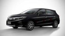 Projeção - Honda City Hatch