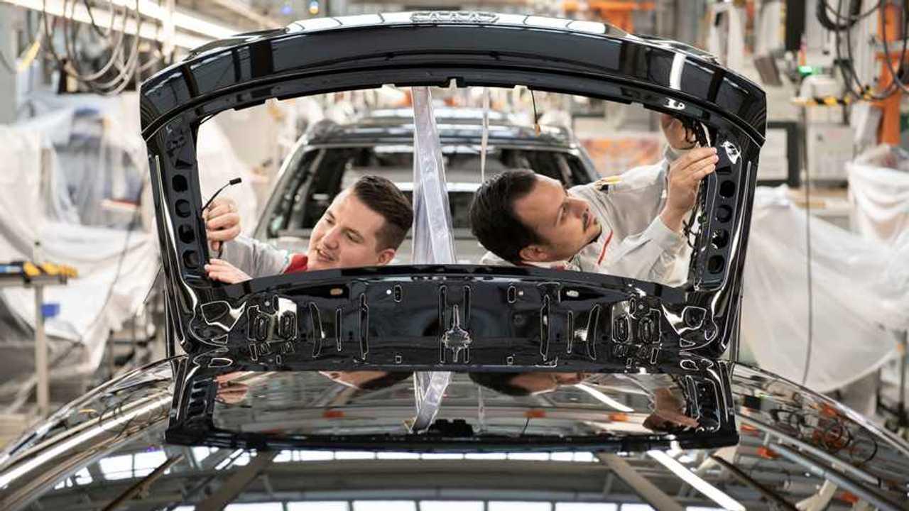 Ligne d'assemblage Audi