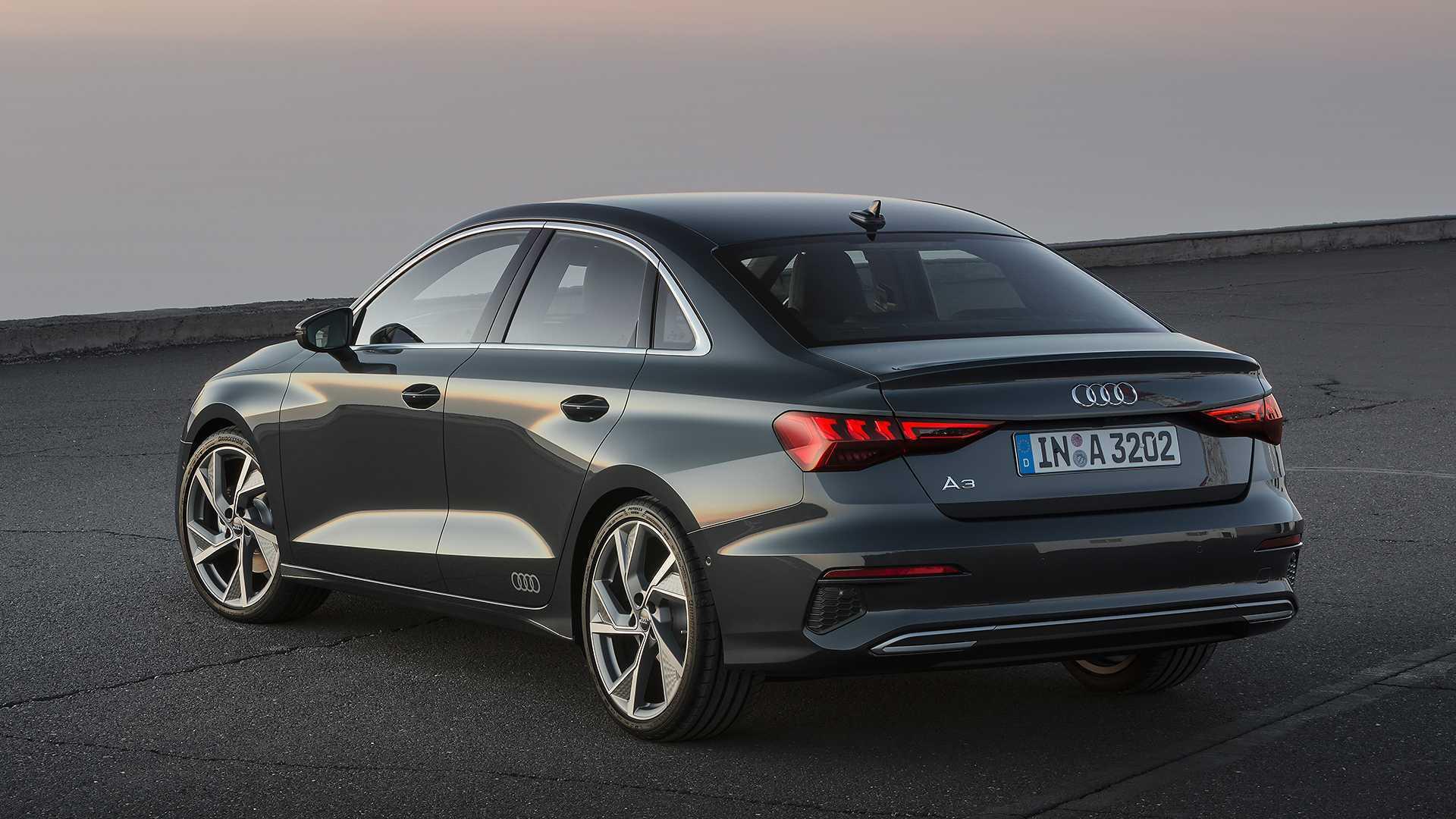 Novo Audi A3 Sedan 2021 fica mais eficiente e elegante ...