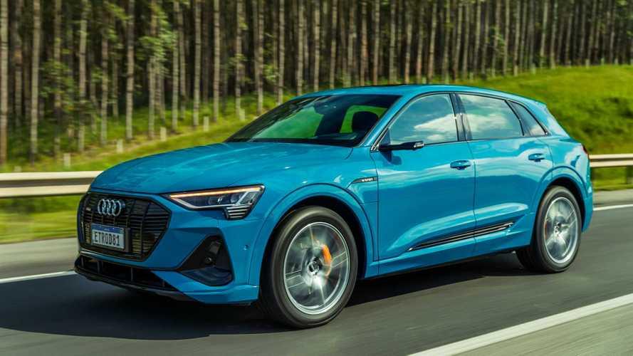 Audi e-tron 2021 ganha faróis full LED Digital Matrix no Brasil; veja preços