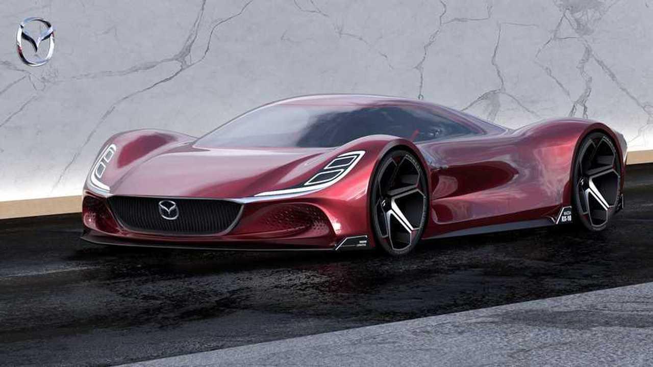 Mazda RX-10 Vision Longtail Renderkép
