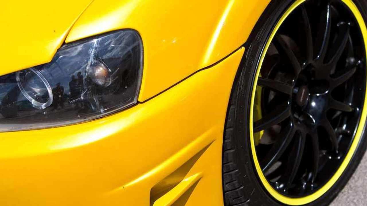 Bespoke car closeup