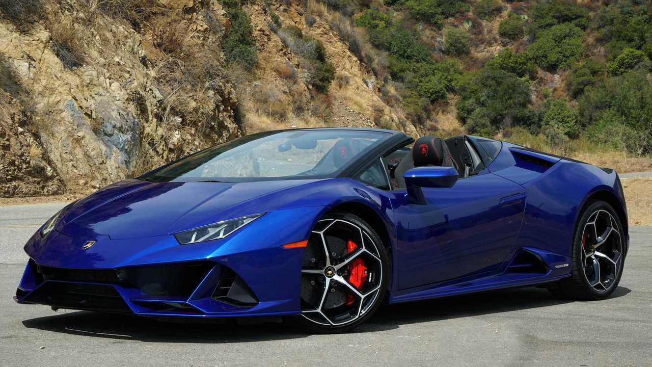 Lamborghini Huracán Evo Spyder 2020, prueba