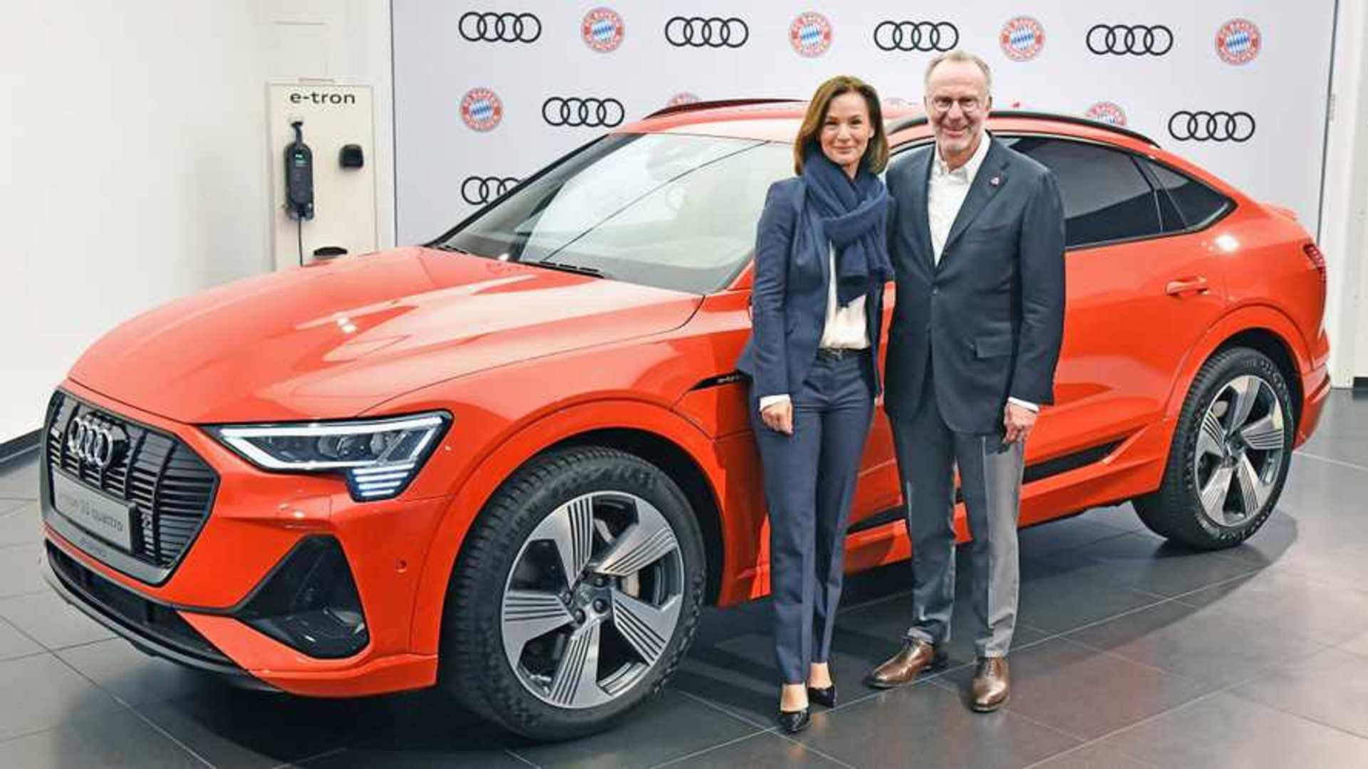 Le Bayern Munich et Audi prolongent leur partenariat
