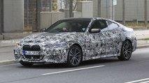 2021 BMW 4 Series Coupe new spy photos