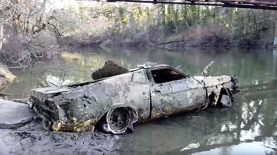 After 40 Years, 1973 Ford Mustang Mach-1 Found At Bottom Of River