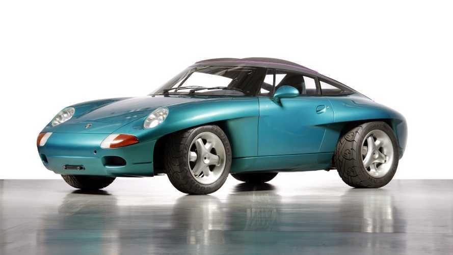 Concept oublié - Porsche Panamericana (1989)