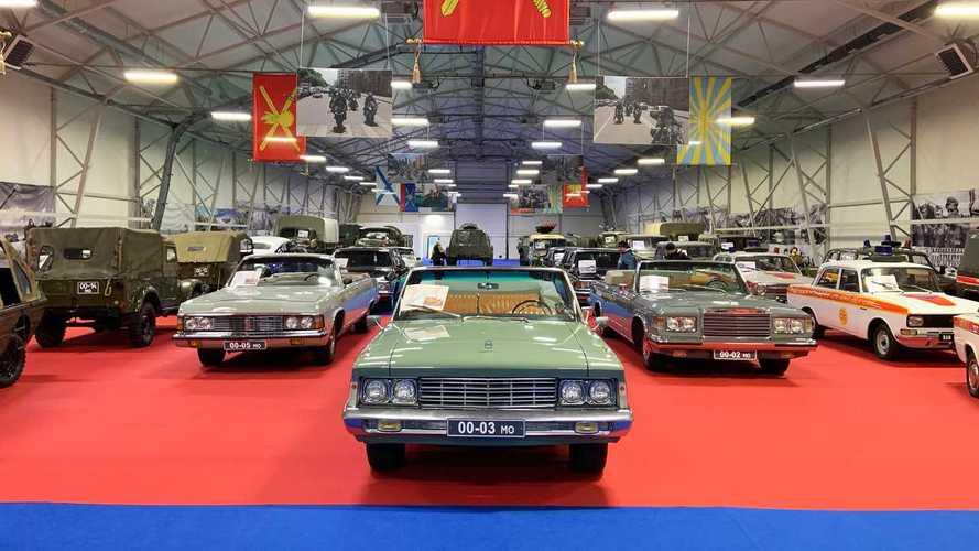 13 забытых машин из армейских запасников СССР