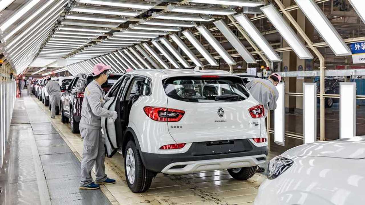 Usine Renault Wuhan Chine