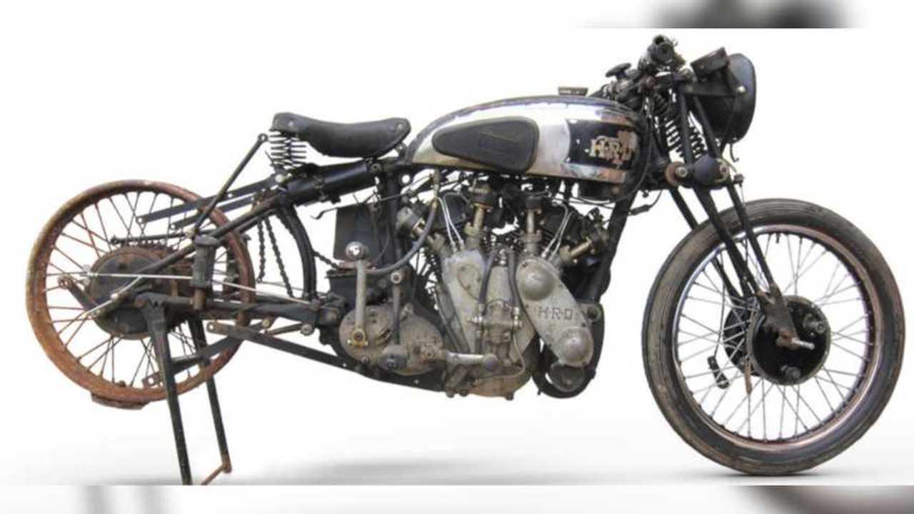 1938 Vincent-HRD 998cc Series-A Rapide