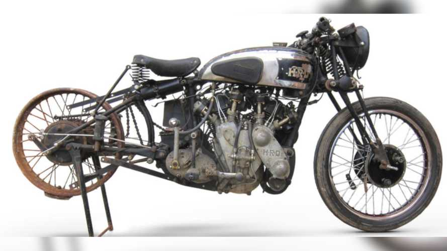Do You Want To See A Very Rare Vincent-HRD Demo Bike?