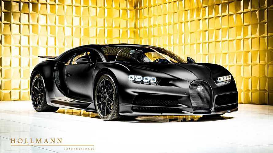 Máris felbukkant a piacon egy 1.4 milliárd forintért eladó Bugatti Chiron Sport Noire