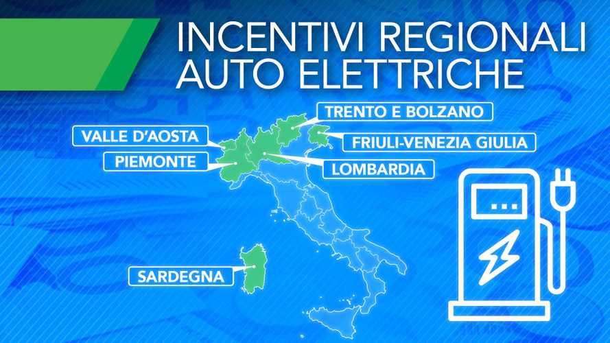 Incentivi auto elettriche 2020, ecco le Regioni dove si risparmia