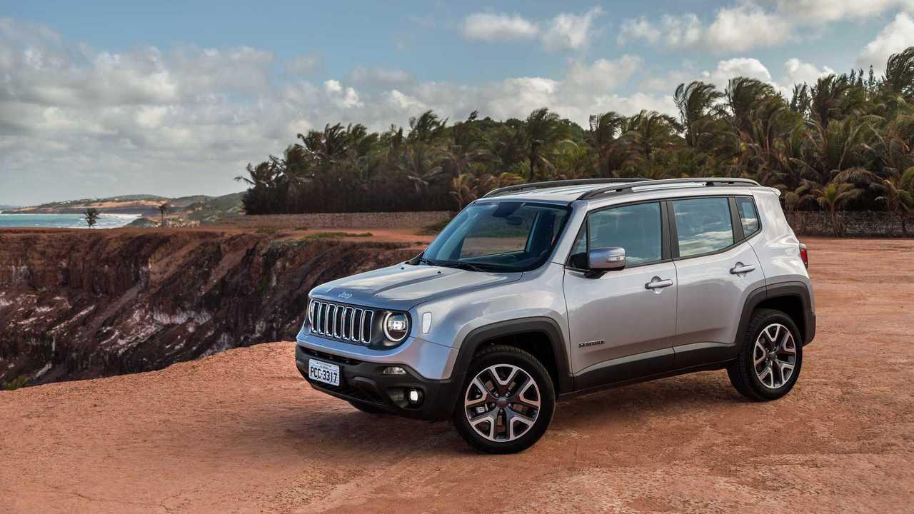 Brasile - Jeep Renegade (68.730 unità)