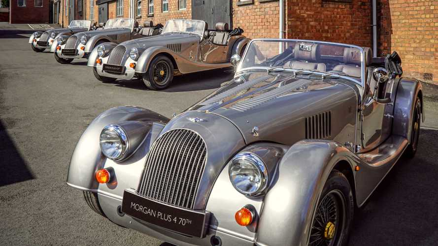 Morgan completes first Plus 4 70th Anniversary Edition cars
