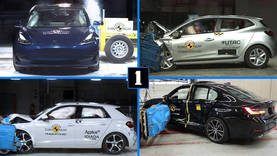 Euro NCAP - Les meilleures voitures de 2019 par catégorie