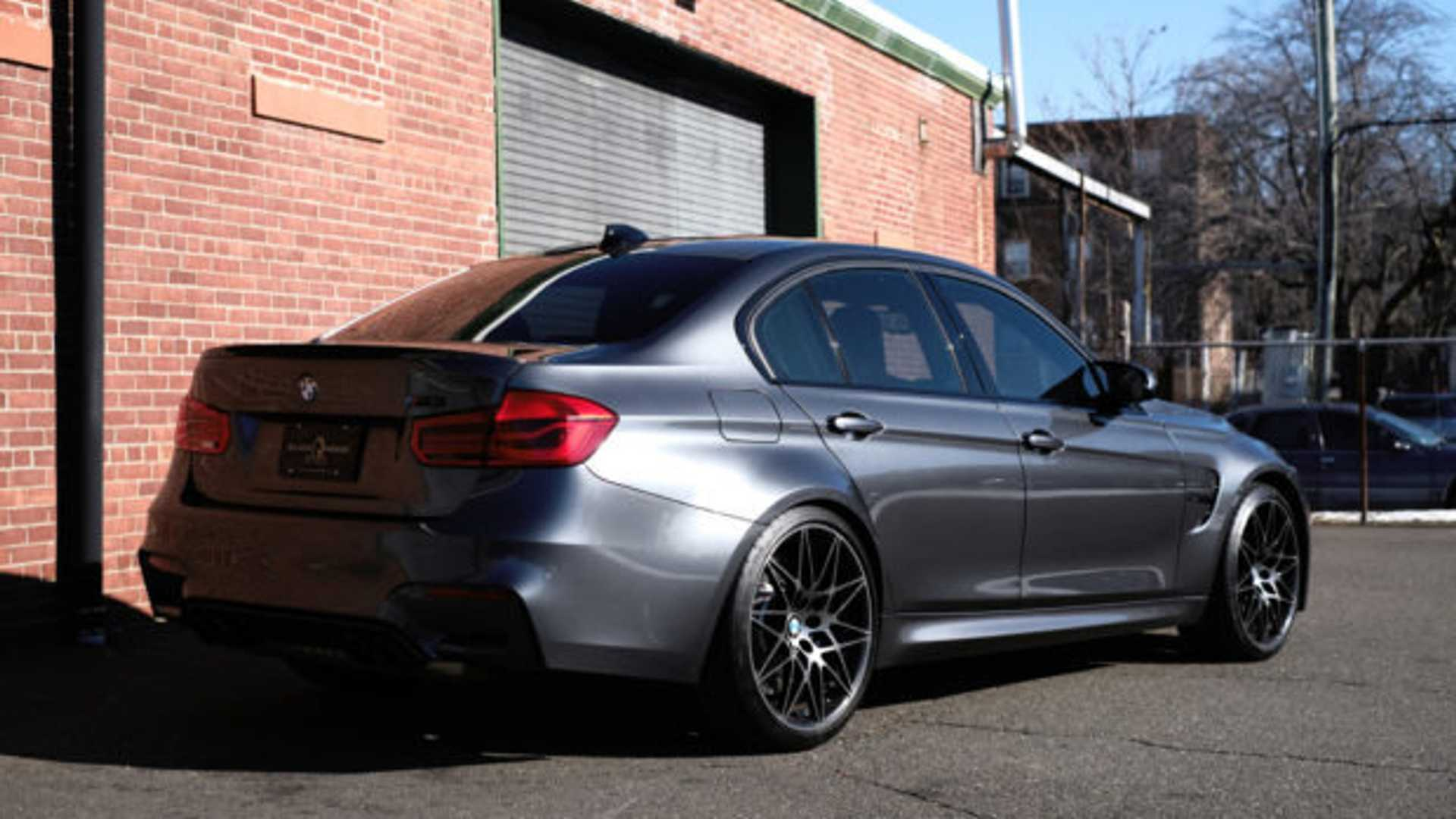 """[""""Hit The Track In A 2018 BMW M3 Competition Package""""]"""