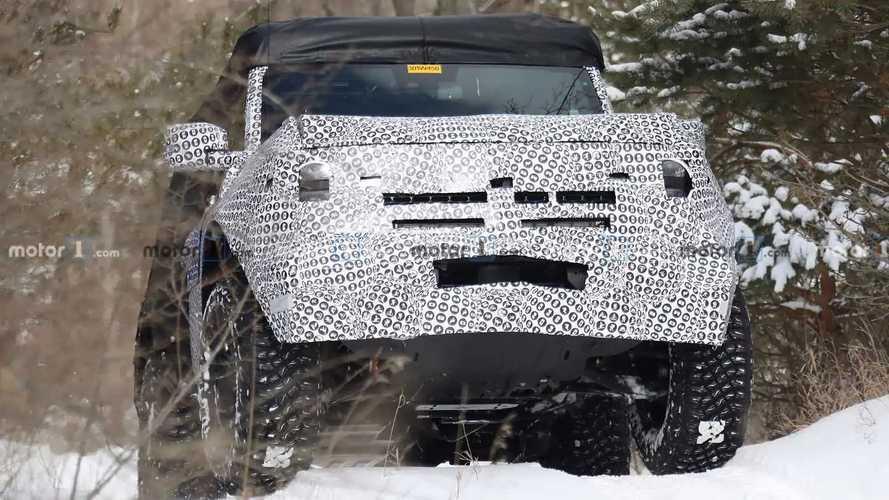 2020 Ford Bronco'nun 2 Kapılı Versiyonuna Ait Casus Fotoğraflar