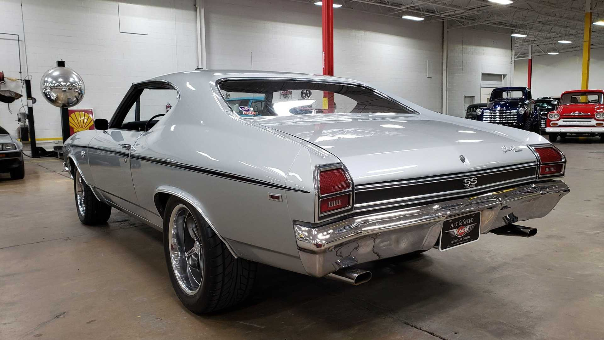 """[""""1969 Chevy Chevelle SS 396 Is Mostly Original""""]"""