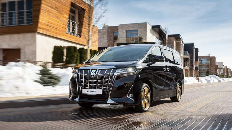 Toyota отзовет в России новейшие минивэны Alphard