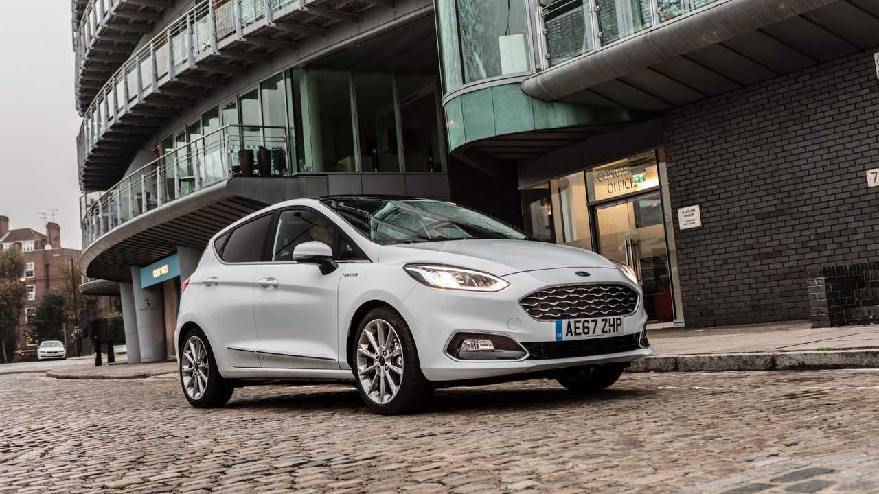 7.) Großbritannien: Ford Fiesta
