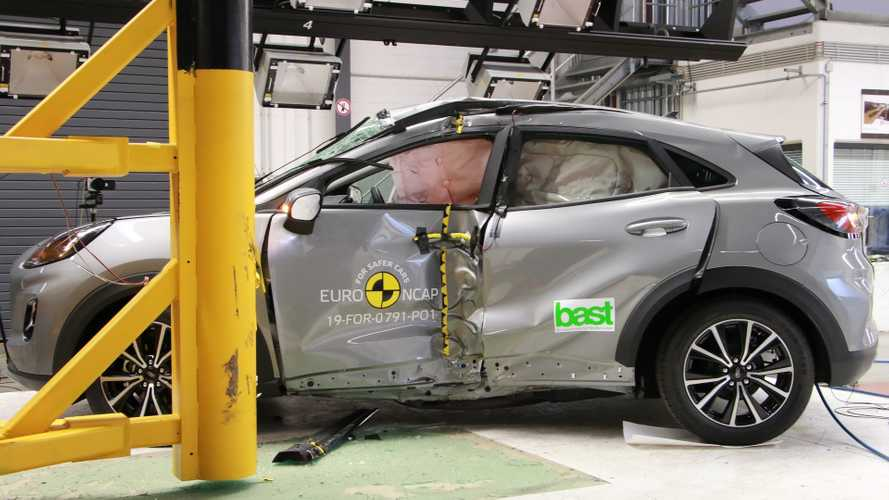 Ford Puma (2020), crash test Euro NCAP