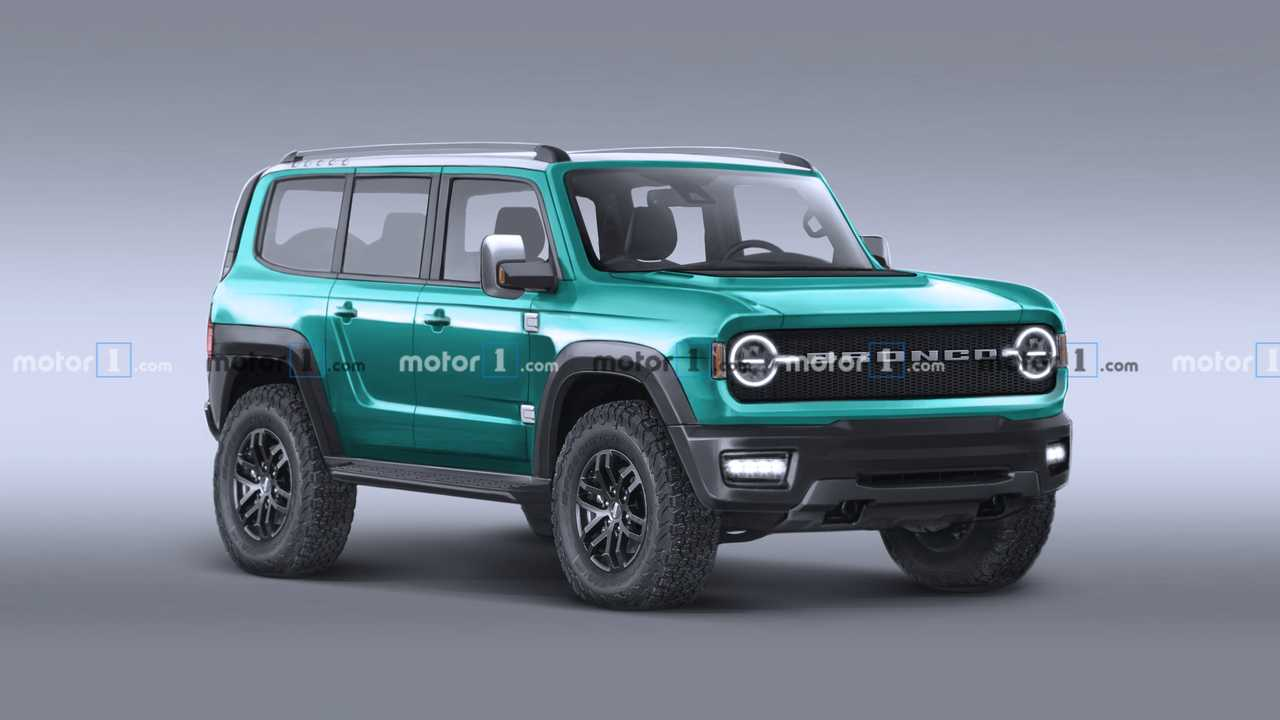 Ford Bronco Colorful Renderings