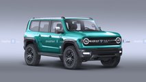 Ford Bronco Colorful Render
