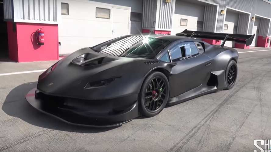 Menacing Twin-Turbo Lamborghini Huracan Super Trofeo Has 1,200 HP