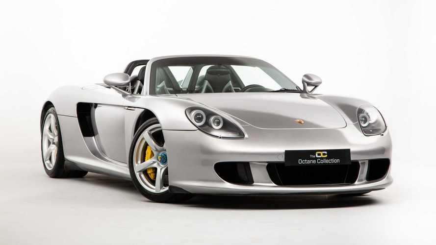 Este Porsche Carrera GT tiene 107.000 kilómetros y está en venta