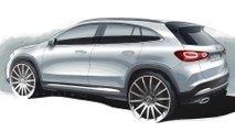 2020 Mercedes-Benz GLA Teaser